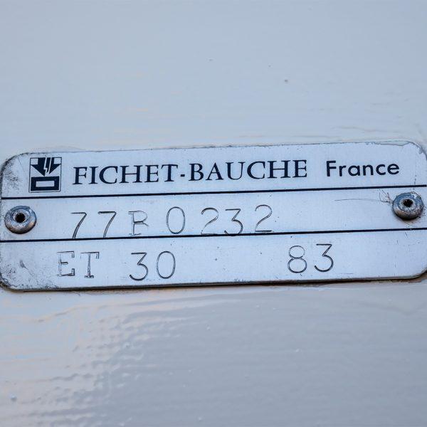 OCC1483 Fichet Bauche Brandkast