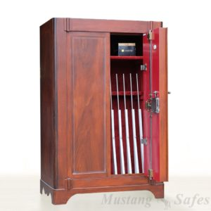 Wapenkast Elsenburg Houtnerf Design Vintage Occ 1206 - Mustang Safes