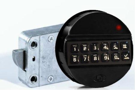 Luxe Elektronisch Codeslot MS-EM-2020 (2 gebruikers codes) - Mustang Safes