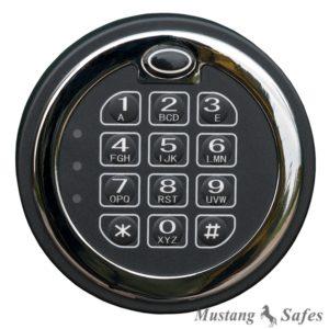 Elektronisch Codeslot MS-1650 (1 gebruikers code) - Mustang Safes