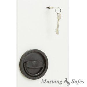 Dubbelbaard Sleutelslot - Mustang Safes