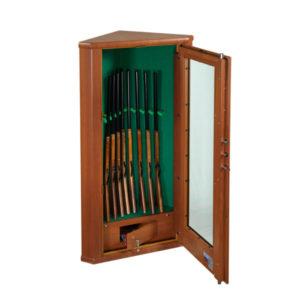 Vitrine Hoekkluis met houtafwerking - Mustang Safes