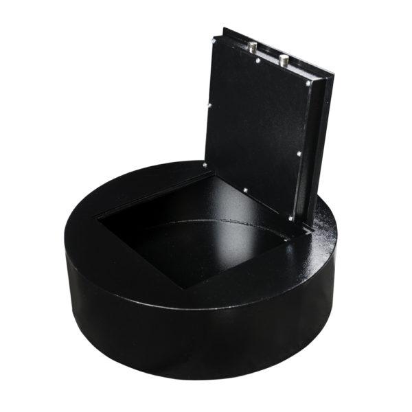 autokluis-rond-leeg2-zwart