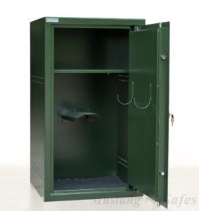 Zadelkast met legbord S1 gecertificeerd - Mustang Safes