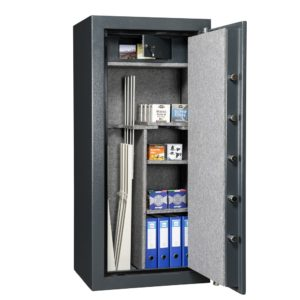 Wapenkluis Brandwerend USA Model MSC 1507-M Antraciet - Mustang Safes