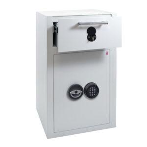 Sistec EM3-D-elo inbraakwerende afstortkluis met elektronisch codeslot - Mustang Safes