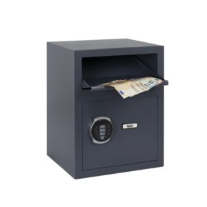 Filex Security DS 1 afstortkluis met elektronisch codeslot - Mustang Safes