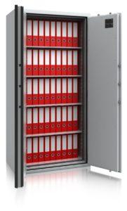 Inbraak- en brandwerende documentenkast – De Raat Combi-Paper S1-490 - Mustang Safes