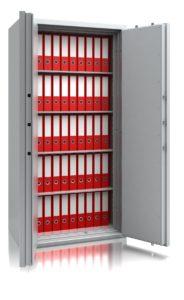 Inbraak- en brandwerende documentenkast – De Raat Combi-Paper S2-490 - Mustang Safes