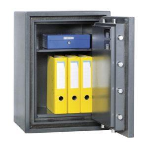 Inbraak- en brandwerende kluis Salvus Bologna 95elo – Klasse 1 met elektronisch codeslot - Mustang Safes