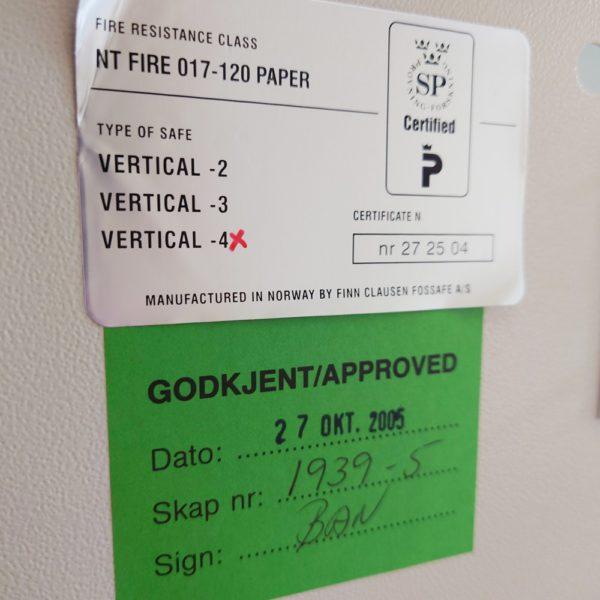 Rosengrens brandwerende ladekast OCC1633