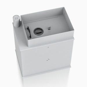 Safebox 2 vloerkluis deposit met afstort - Mustang Safes