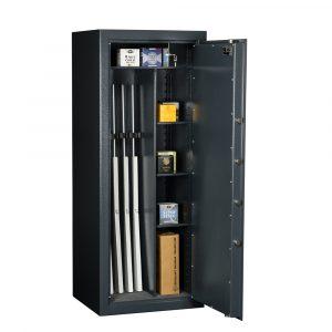 Coffre-fort pour 5 armes – classe de sécurité S2 – (réf.MSG 20-5 S2) - Mustang Safes