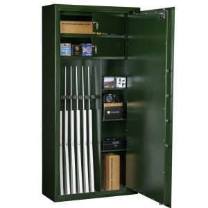 Coffre-fort Mustang Safes pour 8 armes – MSG 7-20 S1 - Mustang Safes