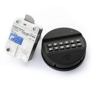 MS-EM2020 Serrure électronique (deux codes utilisateurs) - Mustang Safes