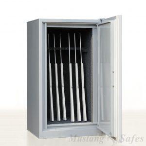 Coffre-fort pour 14 armes Ahrend – serrure électronique – Occ 1329 - Mustang Safes