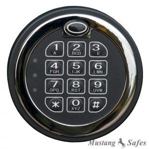 Serrure électronique (un utilisateur) MS-1650 - Mustang Safes