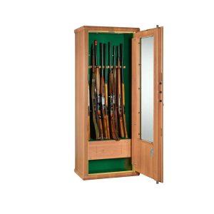 Armoire forte avec porte vitrée pour 10 armes – MS Scrigno 1736540 - Mustang Safes