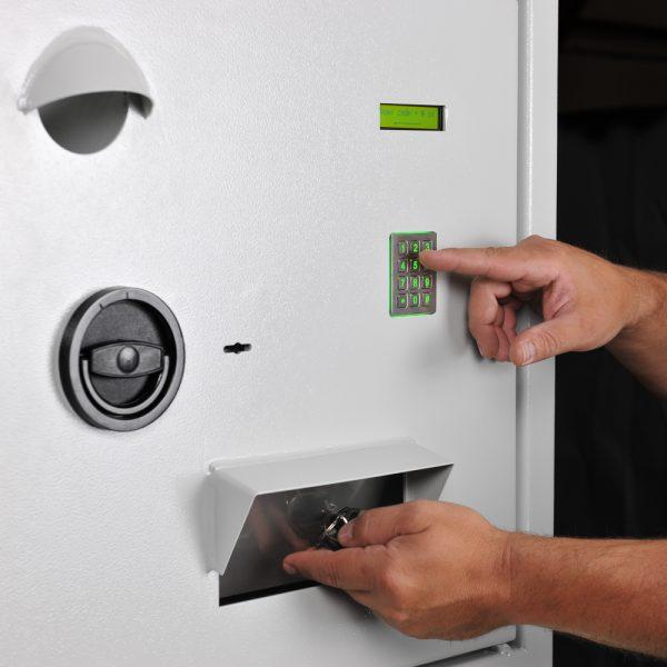 Système de gestion électronique des clés Mustangsafes