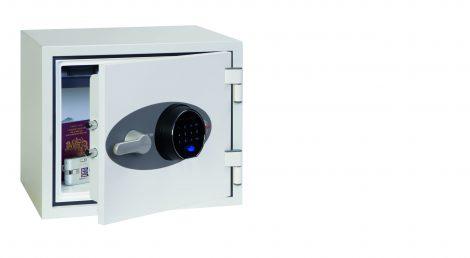 Phoenix Titan FS1281F Coffre-fort ignifuge avec serrure à empreinte digitale - Mustang Safes