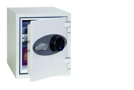 Phoenix Titan FS1282F Coffre-fort ignifuge avec serrure à empreinte digitale - Mustang Safes