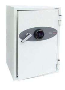 Phoenix Data Combi DS2502F Coffre-fort ignifuge avec serrure à empreinte digitale - Mustang Safes