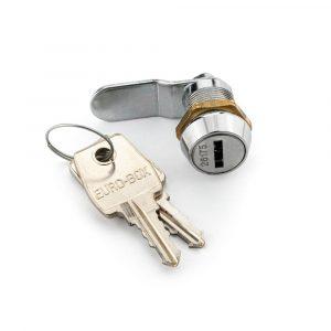 Quatre serrures batteuses ouvrant avec une clé unique - Mustang Safes