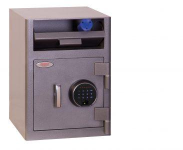 Phoenix Coffre pour dépôts à trappe Serrure à empreinte digitale SS0996FD - Mustang Safes