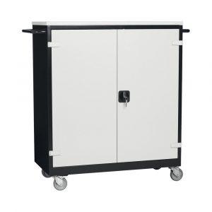 Filex Security LT chariot mobile pour seize ordinateurs portables ou tablettes (large) - Mustang Safes