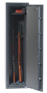 Phoenix Rigel GS8021K Classe 1 Coffre-fort pour 5 arms – serrure à double panneton - Mustang Safes