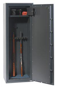 Phoenix Rigel GS8023K Classe 1 Coffre-fort pour 8 arms – serrure à double panneton - Mustang Safes