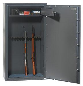 Phoenix Rigel GS8025K Classe 1 Coffre-fort pour 14 arms – serrure à double panneton - Mustang Safes