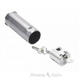 tube pour clés – serrure à clé - Mustang Safes
