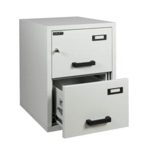Salvus Bolzano armoire à deux tiroirs ignifuges - Mustang Safes