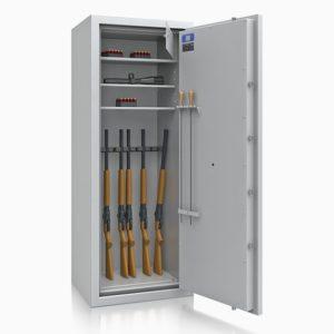 Armoire à fusils ignifuge DR6004 Classe 1 - Mustang Safes