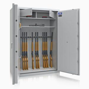 Armoire à fusils ignifuge DR6006/2 Classe 1 - Mustang Safes