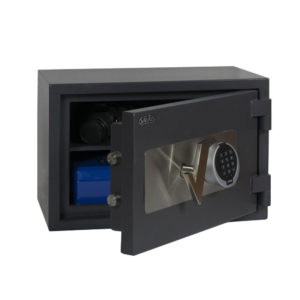 coffre-fort antieffraction et ignifuges Salvus Ravenna 1elo Classe 1 – Serrure électronique - Mustang Safes