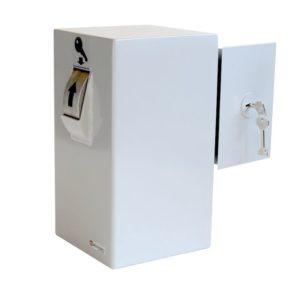 Keysecuritybox KSB101 Coffre-Fort de Dépôt pour clés (fixation murale, porte à droite) - Mustang Safes
