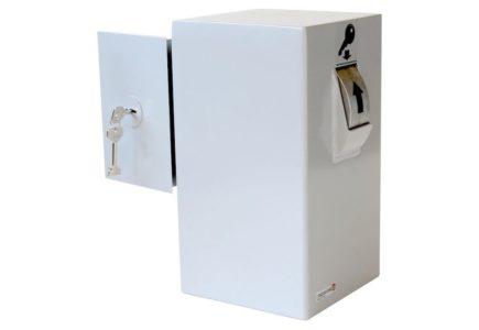 Keysecuritybox KSB102 Coffre-Fort de Dépôt pour clés (fixation murale, porte gauche) - Mustang Safes
