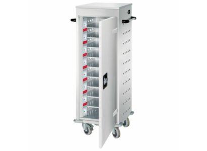 Orgami LFW chariot mobile pour 10 ordinateurs portables - Mustang Safes