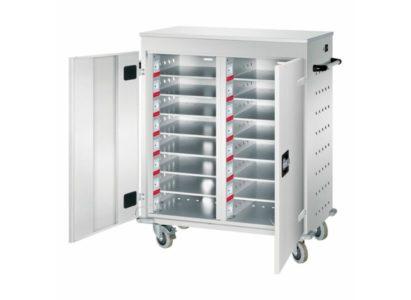 Orgami LFW chariot mobile pour 16 ordinateurs portables - Mustang Safes